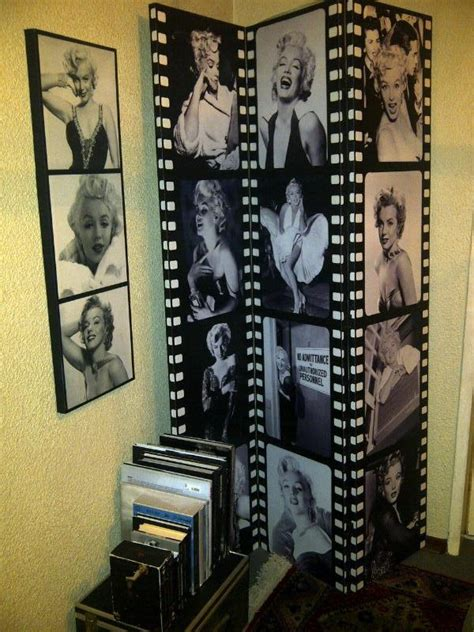 marilyn monroe bedroom theme marilyn corner marilyn monroe room divider with art print
