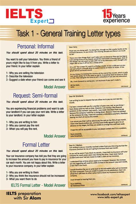 Formal Letter Sle For Ielts Ielts Gt Task 1 Letter Types Ielts Preparation In Karachi