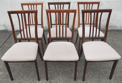 Nathan Dining Room Chairs Set Of Six Mahogany Dining Chairs By Nathan