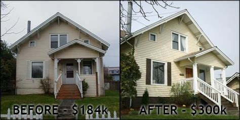 house flipping before and after sell your house fast for the fix n flip still alive well seattle bubble