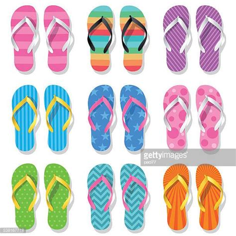 Flip Flop Scrapcard Foto flip flop stock illustrations and getty images