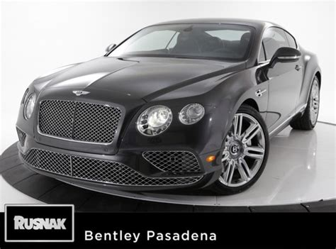pasadena bentley bentley continental gt for sale dupont registry