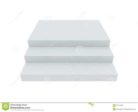 stair template blank white stairs royalty free stock image image 31772526