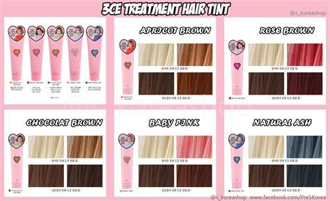 3ce Treatment Hair Tint thuốc nhuộm t 243 c 7 ng 224 y 3ce treatment hair tint