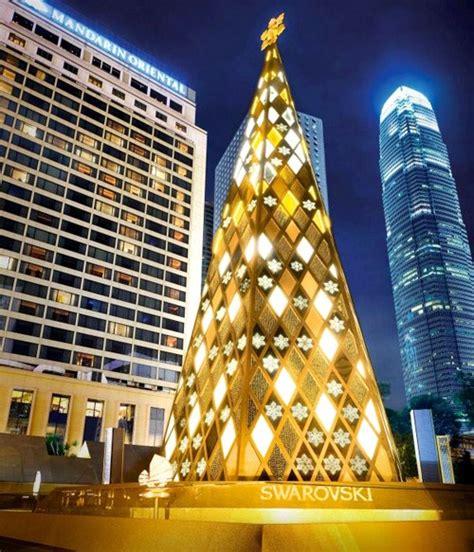 film pohon natal foto pohon natal yang dibuat dari kristal swarovski foto