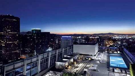 top bars in los angeles the ritz carlton rooftop bar in la los angeles therooftopguide com