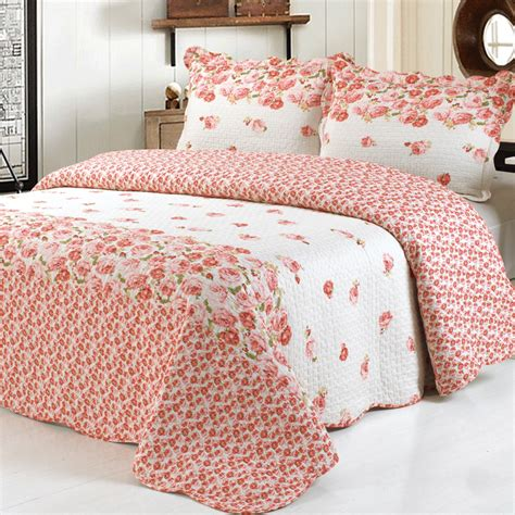 hand made cotton quilts bedding set bed linens pillowcase