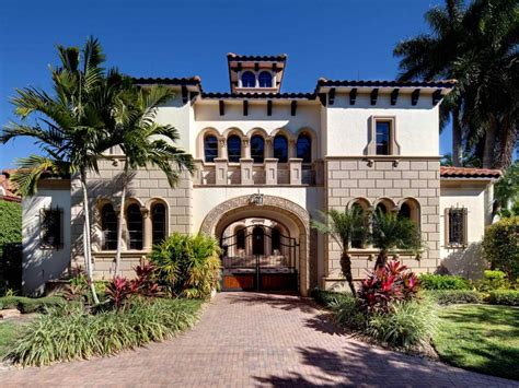 Cape Cod Garage Plans 14 000 square foot naples mansion with magnificent gated