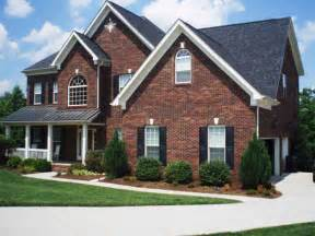 Brick Home Designs Exterior Color Schemes For Red Brick Homes Best Home