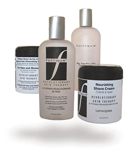 Follique By Follicare Research by Follique Original Skin Care For Razor Bumps And Ingrown Hairs