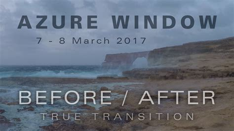 azure window before and after a true before after transition of the fallen azure