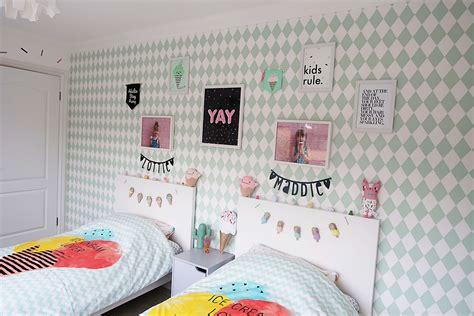 ice cream themed bedroom my girls shared bedroom tour an ice cream themed room