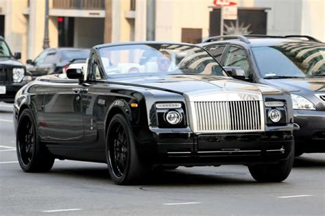 David Beckham Rolls Royce Phantom Drophead Coupe Pics
