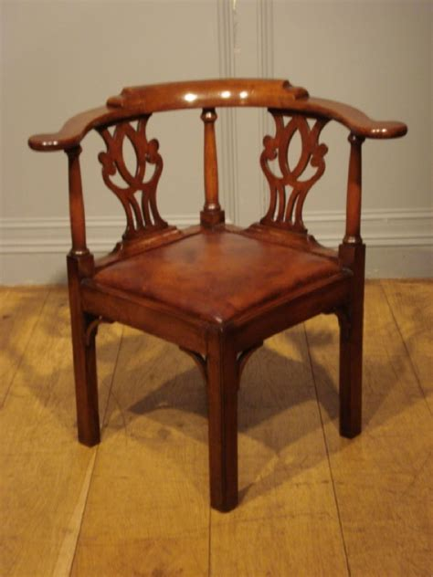 Small Corner Chair by Sold Georgian Period Walnut Corner Chair Antique Chairs
