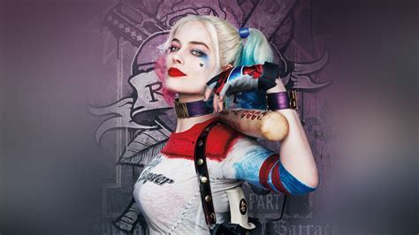 As Suicide Squad Poster Film Art Hall Harley Quinn Wallpaper