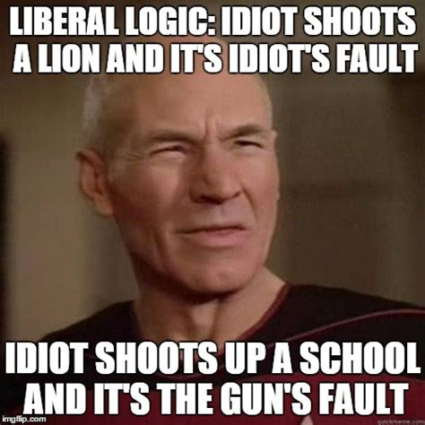 Liberal Meme - the gallery for gt liberal logic 101 guns