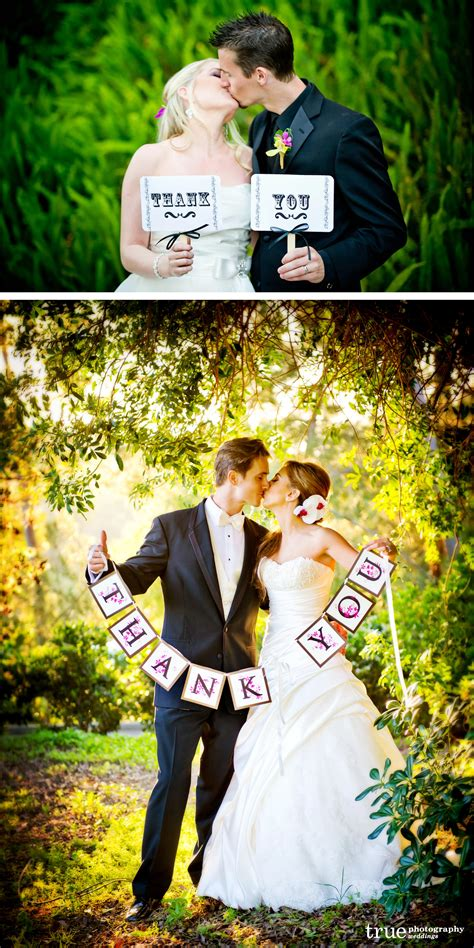 Wedding Holding Thank You Sign by Wedding Trend Of The Week Quot Thank You Quot Sign Photos San