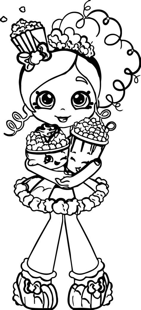 shopkins popcorn coloring page shopkins popcorn coloring pages download shopkins