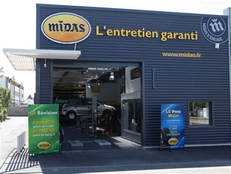 Franchise Garage by Franchise Midas Ouvrir Une Franchise Garage Centre Auto