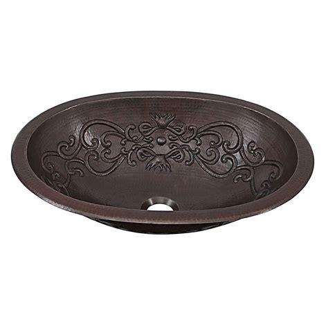 Handmade Sink - sinkology pauling dual mount handmade solid copper