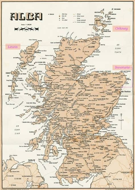 scotland map s a collection of illustrations and
