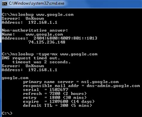 Lookup Ip Address Cmd How To Perform A Dns Lookup