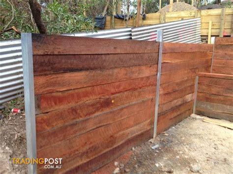 hardwood sleeper garden edging for sale in moorooka qld