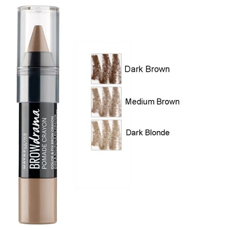 Maybelline Fashion Brow Pomade Crayon maybelline brow drama pomade crayon
