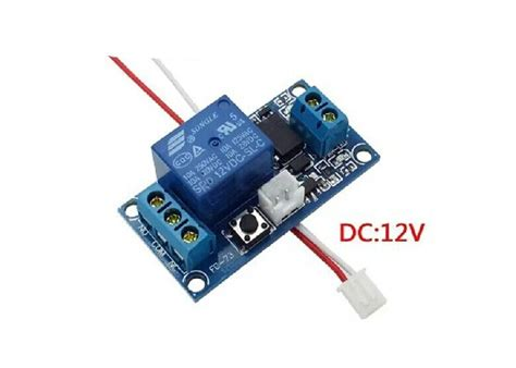Relay Power Ly 1 channel latching relay module 12v with touch bistable