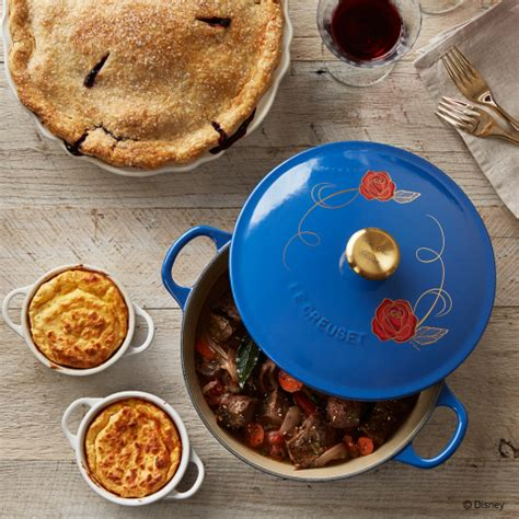 Beauty And The Beast Pot | le creuset williams sonoma debut limited edition cookware