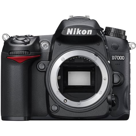 used nikon d7000 slr digital only 25468b b h photo