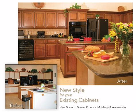 made cabinet refacing before and after by hi lo