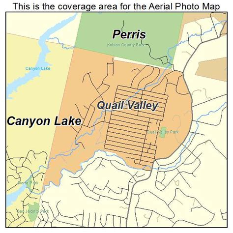 california quail map aerial photography map of quail valley ca california