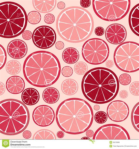 seamless pattern design illustrator fruit design seamless pattern vector royalty free stock