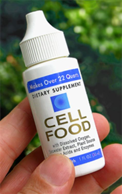 Does Cellfood Detox by Cellfood The Best Oxygen Therapy Supplement Silica
