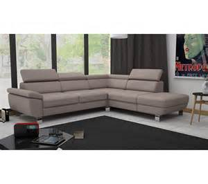 angle cv r 233 versible william ii pu taupe canap 233 s but