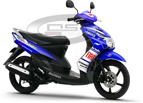 Striping Mio Sporty 2009 Biru jual striping sticker yamaha mio soul custome sporty jual striping custome motor kunjungi