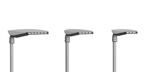 fivep illuminazione lione stradale a led in alluminio sistema palo