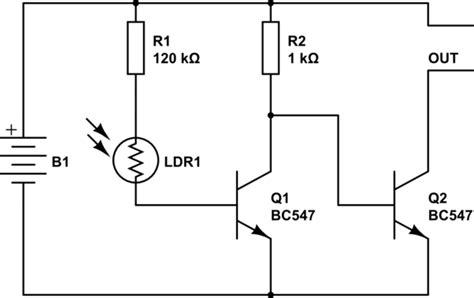 explain photoresistor confusing sensor circuit diagram electronicsxchanger queryxchanger