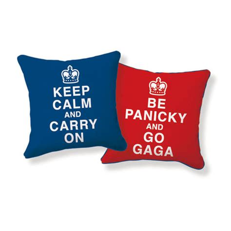 Keep Calm And Carry On Pillow by Keep Calm And Carry On Pillow Decor Touch Of Modern