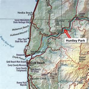 huntley park rates and map port of gold oregon