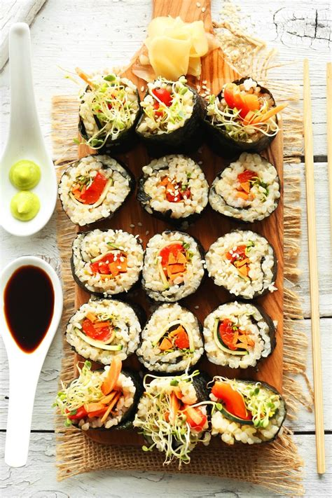 vegetables used in sushi 1830 best asian inspired dishes images on