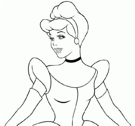 imagenes a blanco y negro de princesas dibujos para colorear dibujos para colorear la cenicienta