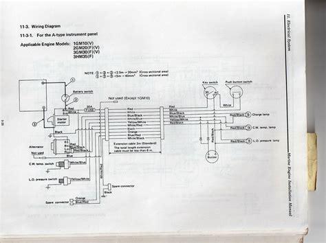 yanmar yt wiring diagram