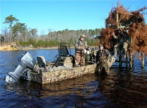 duck hunting boat essentials duck boat blind plans pictures here sail