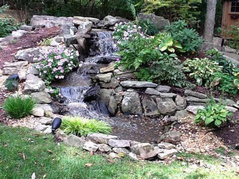 backyard pond maintenance jvi secret gardens installed this 16 long low maintenance