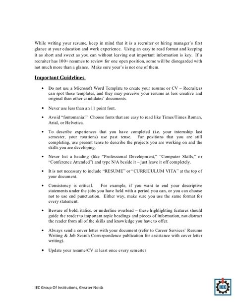 iec resume template resume tips for pharmacy graduates