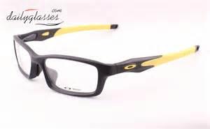 Oakley Crosslink Black Yellow oakley crosslink eyeglasses frame satin black yellow