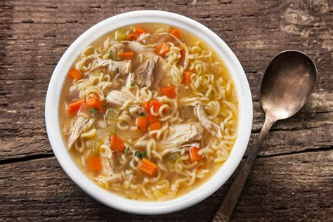 easy recipes easy chicken noodle soup from a leftover roasted chicken