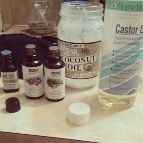 can castor oil be used on weavon diy hair growth mix castor oil coconut oil 5 drops of